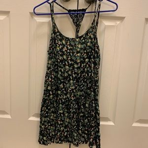 Tank top with floral print
